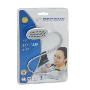 Esperanza lampka LED do notebooka USB