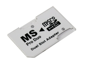 Adapter dual mikro SD/ Ms pro duo