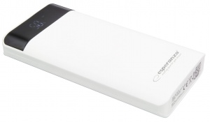 Esperanza power bank 17400mah photon LED light biały