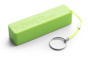Extreme power bank 2000mah quark zielony