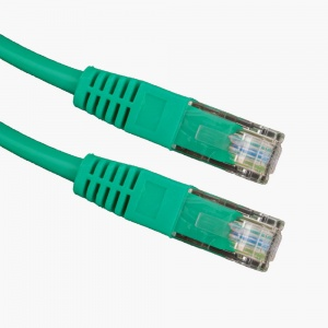 Esperanza kabel UTP CAT 5E patchcord 1M zielony