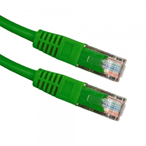 Esperanza kabel  UTP CAT 5E patchcord 5M zielony